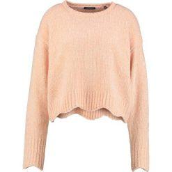 Swetry klasyczne damskie: one more story Sweter peach dust