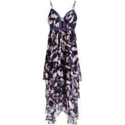 Długie sukienki: YAS YASPALLIDA Długa sukienka dark blue/multicolor