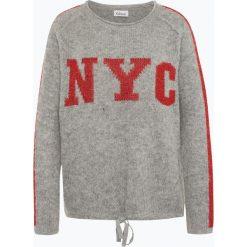 Swetry klasyczne damskie: Grace – Sweter damski z dodatkiem alpaki i wełny merino, szary