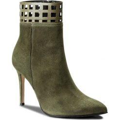 Botki EVA MINGE - Alita 2D 17SF1372276EF 815. Zielone buty zimowe damskie Eva Minge, ze skóry. W wyprzedaży za 249,00 zł.
