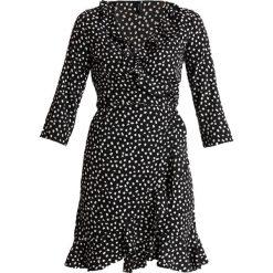 Sukienki hiszpanki: Vero Moda Tall VMHENNA 3/4 WRAP DRESS Sukienka letnia black