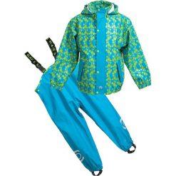 Spodnie niemowlęce: 2-częściowy zestaw przeciwdeszczowy w kolorze turkusowo-zielonym