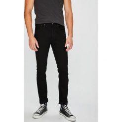 Levi's - Jeansy 501. Brązowe jeansy męskie regular Levi's®, z bawełny. W wyprzedaży za 319,90 zł.