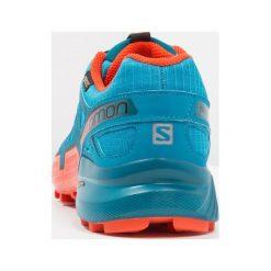 Salomon SPEEDCROSS 4 GTX Obuwie do biegania Szlak fjord blue. Niebieskie buty do biegania męskie marki Salomon, z gumy, salomon speedcross. Za 699,00 zł.