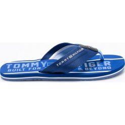 Tommy Hilfiger - Japonki. Szare chodaki męskie TOMMY HILFIGER, z gumy. W wyprzedaży za 119,90 zł.