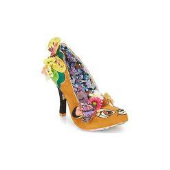Czółenka Irregular Choice  HYAH - BAMBI. Brązowe buty ślubne damskie Irregular Choice. Za 749,00 zł.