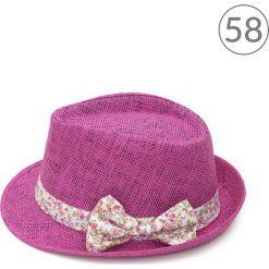 Kapelusz damski Smoothe elegance różowy r. 56. Czerwone kapelusze damskie Art of Polo. Za 32,73 zł.