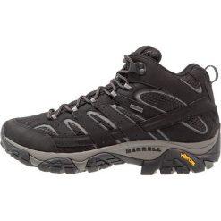 Merrell MOAB 2 MID GTX Buty trekkingowe black. Czarne buty trekkingowe męskie Merrell, z gumy, outdoorowe. Za 579,00 zł.