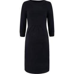 Sukienka ciążowa w kolorze czarnym. Czarne sukienki ciążowe bellybutton, xs, z dekoltem w łódkę. W wyprzedaży za 173,95 zł.