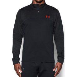 Bejsbolówki męskie: Under Armour Bluza męska Armour Fleece 1/4 Zip czarna r. M (1286334-005)