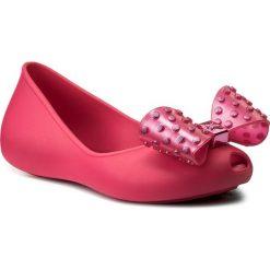 Baleriny ZAXY - Confete Kids 17305 Pink 90175 AA385021 04008. Czerwone baleriny damskie Zaxy, z tworzywa sztucznego. Za 119,00 zł.