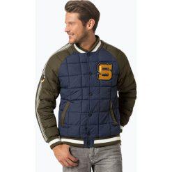 Superdry - Męska kurtka pikowana, zielony. Zielone kurtki męskie pikowane Superdry, l, z aplikacjami, prążkowane. Za 399,95 zł.