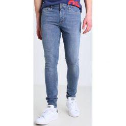 Topman ICEBERG TRUMAN Jeans Skinny Fit blue. Niebieskie rurki męskie Topman. W wyprzedaży za 175,20 zł.