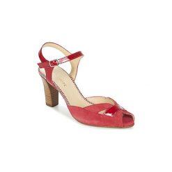 Sandały France Mode  ADRIEN SE TA. Czerwone sandały damskie France Mode. Za 398,30 zł.