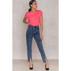 Spodnie damskie: Gestuz Jeansy Cilla - Blue