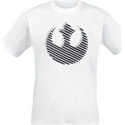 T-shirty męskie z nadrukiem: Star Wars Rebel Logo T-Shirt biały