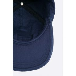 Napapijri - Czapka. Szare czapki z daszkiem męskie marki Napapijri, z bawełny. W wyprzedaży za 179,90 zł.