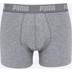 Puma - Bokserki (2-pack). Szare bokserki męskie marki Puma, z bawełny. W wyprzedaży za 59,90 zł.