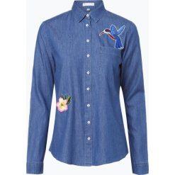 Marie Lund - Damska koszula jeansowa, niebieski. Niebieskie koszule jeansowe damskie marki Marie Lund, z aplikacjami. Za 159,95 zł.