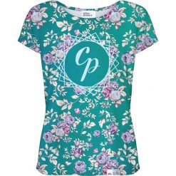Colour Pleasure Koszulka damska CP-034 261 różowo-zielona r. M/L. T-shirty damskie Colour pleasure, l. Za 70,35 zł.