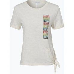 T-shirty damskie: Scotch & Soda – T-shirt damski, żółty