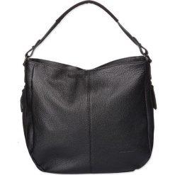 """Torebki klasyczne damskie: Skórzana torebka """"Shilo"""" w kolorze czarnym – 34 x 37 x 11 cm"""