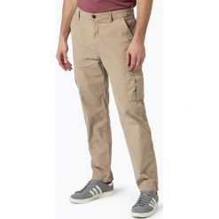 Bojówki męskie: BOSS Casual – Spodnie męskie – Sebas-D, beżowy