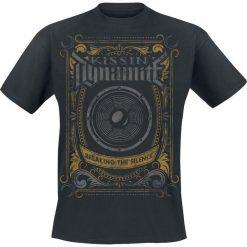 Kissin' Dynamite Breaking The Silence T-Shirt czarny. Czarne t-shirty męskie z nadrukiem Kissin´ Dynamite, l, z okrągłym kołnierzem. Za 74,90 zł.