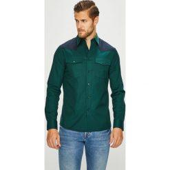 Calvin Klein - Koszula. Szare koszule męskie na spinki Calvin Klein, l, z długim rękawem. Za 449,90 zł.