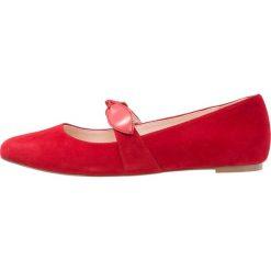 Buty damskie: mint&berry Baleriny z zapięciem red