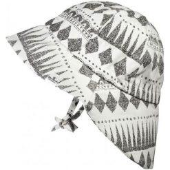 Kapelusz przeciwsłoneczny Graphic Devotion, 0-6 m-cy biało-czarny. Białe czapeczki niemowlęce marki Elodie Details. Za 100,85 zł.