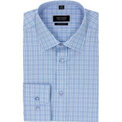 Koszule męskie jeansowe: koszula bexley 1986 długi rękaw custom fit niebieski