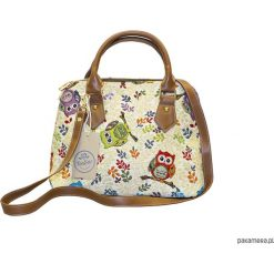 Torebka z paskiem na ramię -Ton Sac Hibou. Żółte torebki klasyczne damskie Pakamera. Za 149,00 zł.