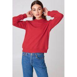 NA-KD Basic Bluza basic - Red. Zielone bluzy damskie marki Emilie Briting x NA-KD, l. Za 100,95 zł.