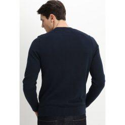 Swetry klasyczne męskie: Abercrombie & Fitch CORE ICON CREW Sweter navy