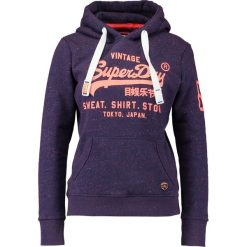 Bluzy damskie: Superdry SHOP POP ENTRY HOOD Bluza z kapturem college navy