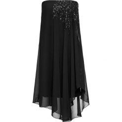 Sukienki balowe: Sukienka na jedno ramię bonprix czarny