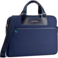 Torba na laptopa PIQUADRO - CA3133CE Blu. Niebieskie plecaki męskie marki Piquadro, z materiału. W wyprzedaży za 589,00 zł.