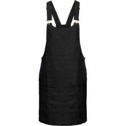 Sukienki hiszpanki: Sukienka ogrodniczka bonprix czarny