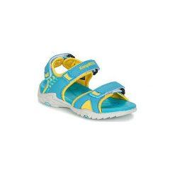 Sandały Dziecko  Kangaroos  INCLAS. Niebieskie sandały chłopięce KangaROOS. Za 90,30 zł.