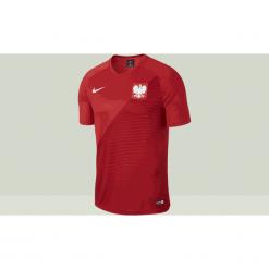 Koszulki do piłki nożnej męskie: Koszulka Nike Polska WC 2018 A Breathe Top (AA3433-611)