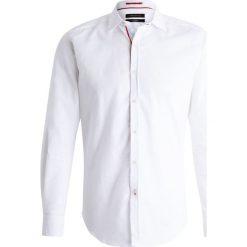 Koszule męskie na spinki: Cortefiel STRUCTURE SLIM FIT Koszula white