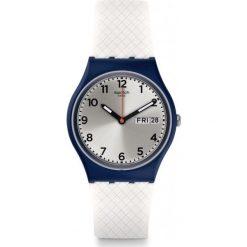 ZEGAREK SWATCH GENT. Szare zegarki męskie Swatch, sztuczne. Za 235,00 zł.