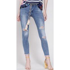 Niebieskie Jeansy All Night Long. Niebieskie jeansy damskie other. Za 84,99 zł.