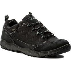Trekkingi ECCO - Ulterra GORE-TEX 82318351052 Black/Black. Czarne buty trekkingowe damskie ecco. W wyprzedaży za 419,00 zł.