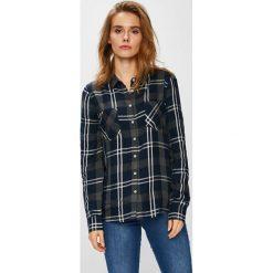 Mustang - Koszula. Niebieskie koszule damskie marki Mustang, z aplikacjami, z bawełny. W wyprzedaży za 129,90 zł.