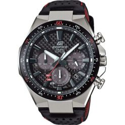 Biżuteria i zegarki męskie: Zegarek Casio Męski EFS-S520CBL-1AUEF Edifice Chrono Szafir Solar czarny