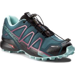 Buty sportowe damskie: Buty SALOMON - Speedcross 4 Cs W 398433 22 V0 Mallard Blue/Reflecting Pond/Eggshell