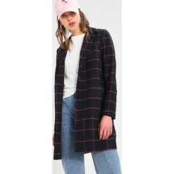 Płaszcze damskie pastelowe: Noisy May NMJOHNNY COAT  Płaszcz wełniany /Płaszcz klasyczny navy blazer/flame scarlet/snow white