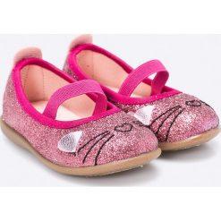 Gioseppo - Baleriny dziecięce. Różowe baleriny damskie Gioseppo, z materiału. W wyprzedaży za 119,90 zł.